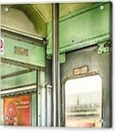 Old Thai Train Acrylic Print