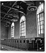 Old Ticket Counter At Los Angeles Union Station Acrylic Print