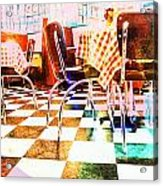 Old Time Diner Acrylic Print