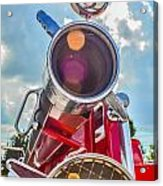 Old Time Fire Truck Series Acrylic Print by Kelly Kitchens