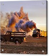 Old Time Steam Acrylic Print