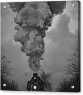 Old Time Steam Locomotive Acrylic Print