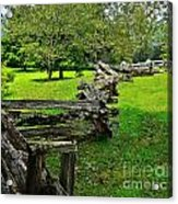 Old Time Tradition Acrylic Print
