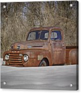 Old Timer In Color Acrylic Print