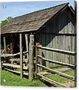 Old Tobacco Shed Acrylic Print