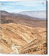 Old Toll Road Landscape In Death Valley Acrylic Print