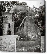 Old Tombstone  Acrylic Print