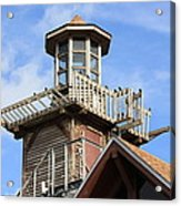 Old Tower Acrylic Print