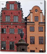 Old Town Architecture Acrylic Print