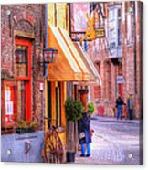 Old Town Bruges Belgium Acrylic Print