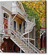 Old Town Chicago Living Acrylic Print