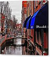 Old Town Delft Acrylic Print