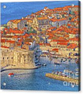 Old Town Dubrovnik Acrylic Print