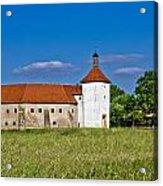Old Town Fortress In Durdevac Croatia Acrylic Print