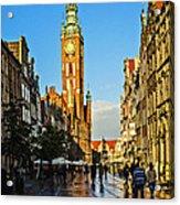 Old Town  Gdansk  Poland Acrylic Print