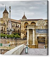 Old Town Of Cordoba In Spain Acrylic Print
