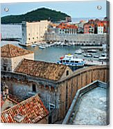 Old Town Of Dubrovnik Acrylic Print