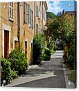 Old Town Of Valbonne France  Acrylic Print