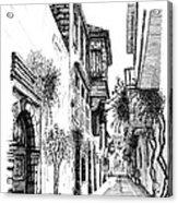 Old Town-rethymno Acrylic Print