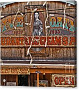 Old Town Saloon Acrylic Print
