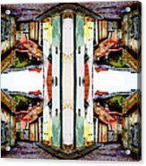 Old Town Stories Art 1 Acrylic Print
