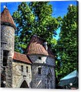 Old Town - Tallin Estonia Acrylic Print