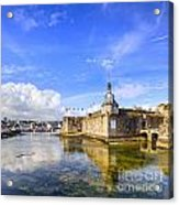 Old Town Walls Concarneau Brittany Acrylic Print