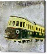 Old Toy-train Acrylic Print