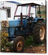 Old Tractor I Acrylic Print