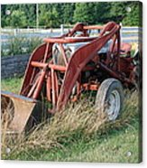 Old Tractor Acrylic Print by Jennifer Ancker