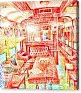 Old Train 2 Acrylic Print