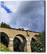 Old Train Viaduct In Poland Acrylic Print