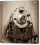 Old Trains Acrylic Print