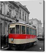 Old Tram Acrylic Print