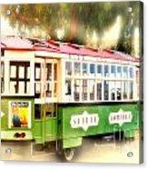 Old Trolley Acrylic Print