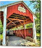 Old Trostle Town Bridge Acrylic Print