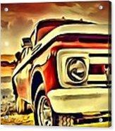 Old Truck Art Acrylic Print