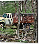 Old Truck At Rest Acrylic Print