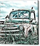 Old Truck - Cool Glaze Acrylic Print