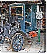 Old Tyme Auto Shop Acrylic Print