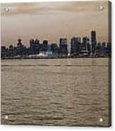 Old Vancouver Acrylic Print