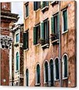 Old Venetian Walls. Italy Acrylic Print