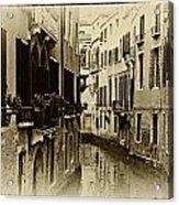 Old Venezia Acrylic Print