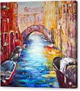 Old Venice Acrylic Print