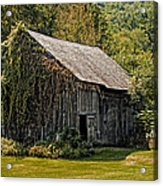Old Vermont Barn Acrylic Print