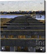Old Village To Sullivan's Island Acrylic Print
