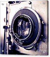 Old Vintage Press Camera  Acrylic Print