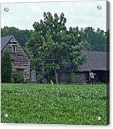 Old Virginia Barns Acrylic Print