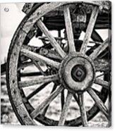 Old Wagon Wheels Acrylic Print