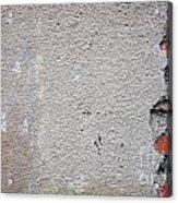 Old Wall Fragment Acrylic Print